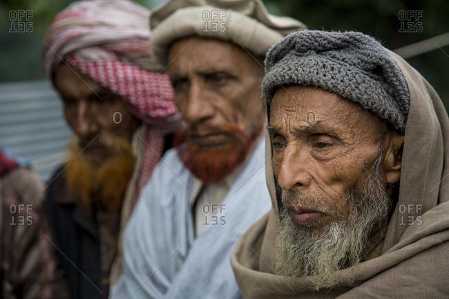 April 22, 2006: Teachers at a traditional Islamic madrasa in Pakistan