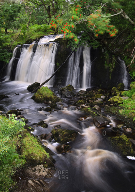 Falls of Blairgour at Loch Awe, Scotland