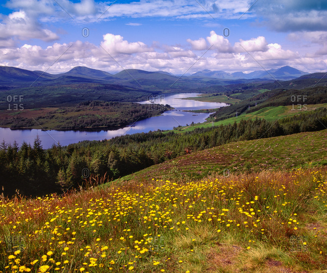 Loch Garry, Scottish Highlands