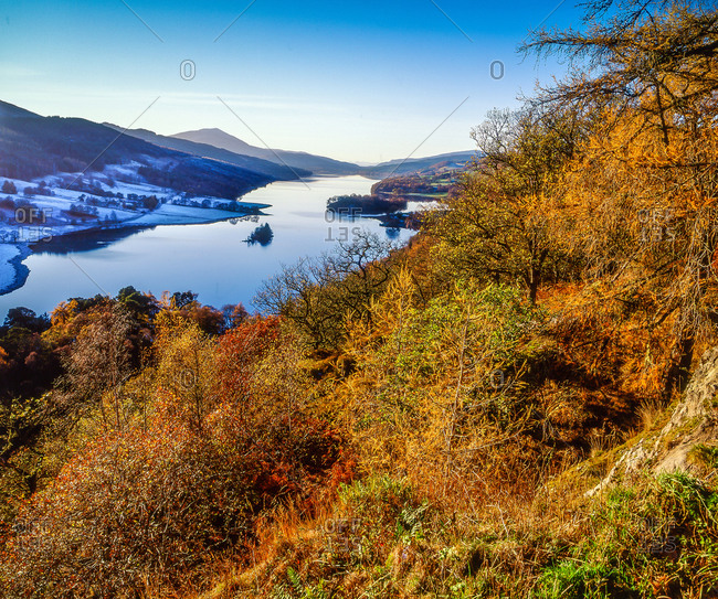 The Queens view above Loch Tummel, Perthshire
