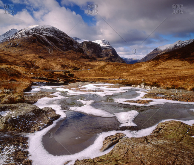 Pass of Glencoe, West Highlands.