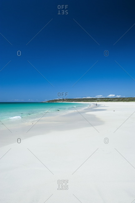 White sand beach and turquoise waters, Shelley Cove near Eagle Bay, Western Australia, Australia, Pacific