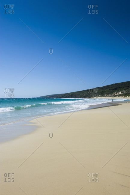 White sand and turquoise water near Margaret River, Western Australia, Australia, Pacific