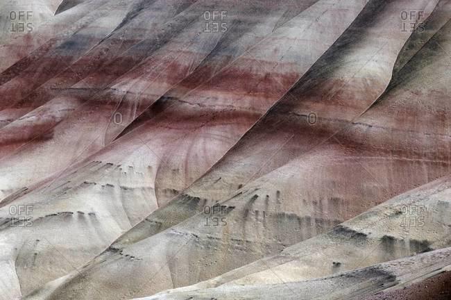 Ridges of the Painted Rocks