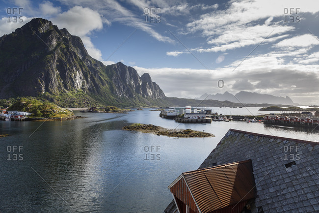 Landscape, Svolvaer, Lofoten Islands, Norway