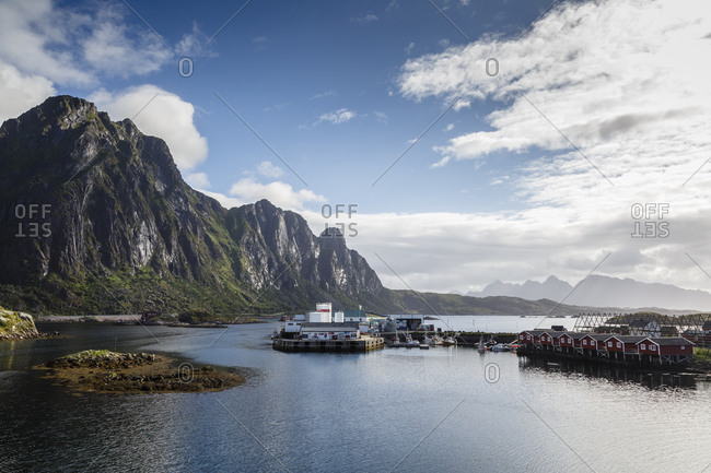 Landscape, Svolvaer, Lofoten Islands, Norway