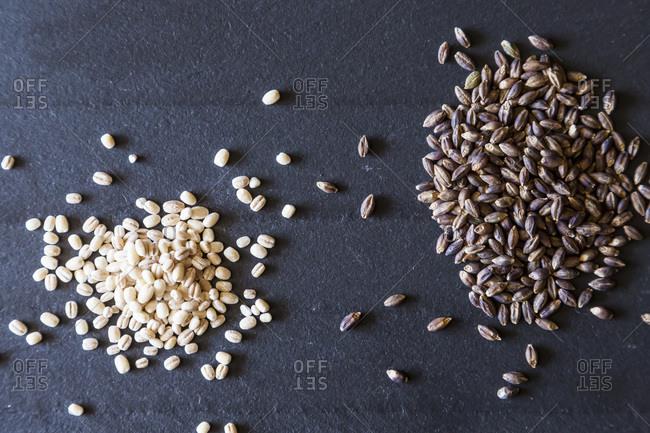 Pearled Barley & Black Barley