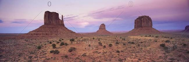 The Mittens, Monument Valley, Utah, United States of America (U.S.A.), North America