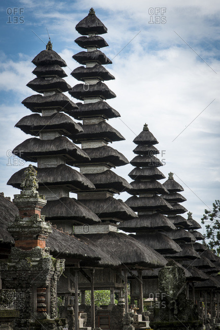 The Taman Ayun royal temple in Bali, Indonesia