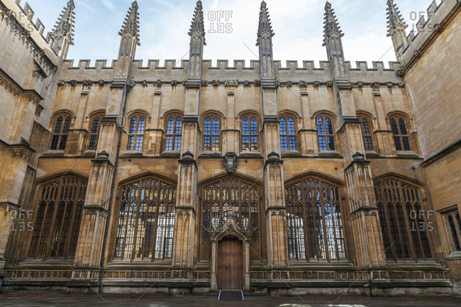 The Bodleian Library, Oxford, Oxfordshire, England, United Kingdom, Europe