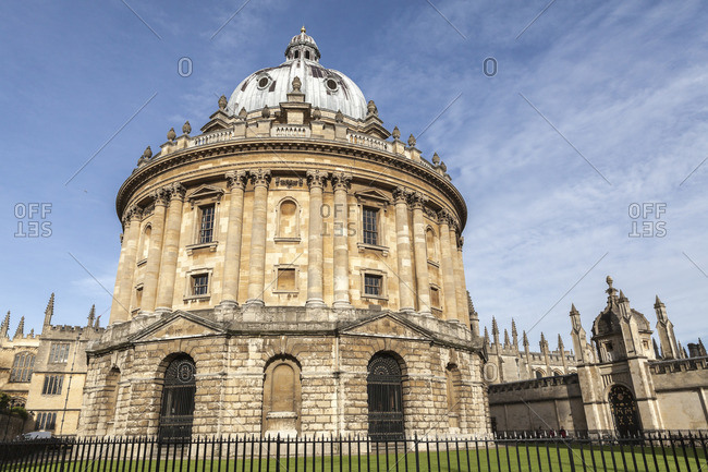 The Radcliffe Camera, Oxford, Oxfordshire, England, United Kingdom, Europe