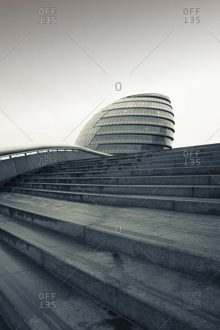 City Hall, London, England, United Kingdom, Europe (Split Toned)