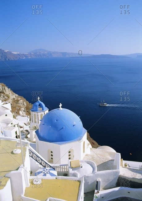 Thira (Fira), Santorini, Cyclades Islands, Greece, Europe