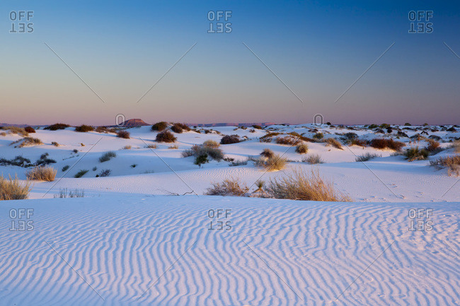 White Sands National Monument, New Mexico, United States of America, North America