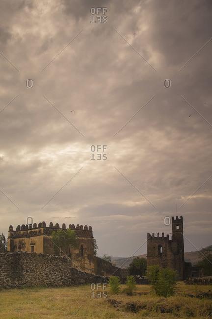 Fasilides' Castle in Gondar, Amhara Region, Ethiopia