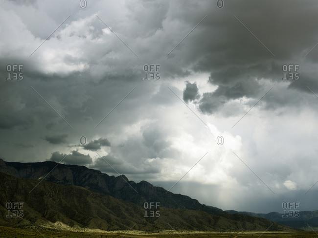Storm outside of Albuquerque, New Mexico
