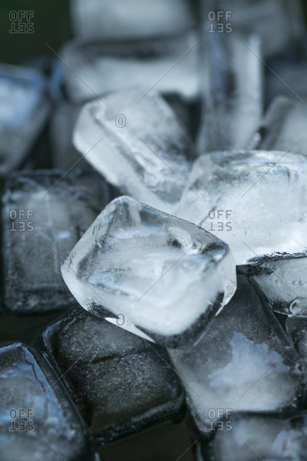 Ice cubes, close-up - Offset Collection