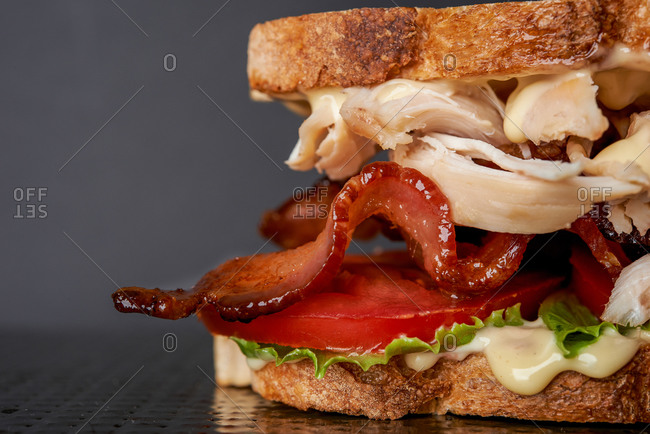 Detail of Club sandwich