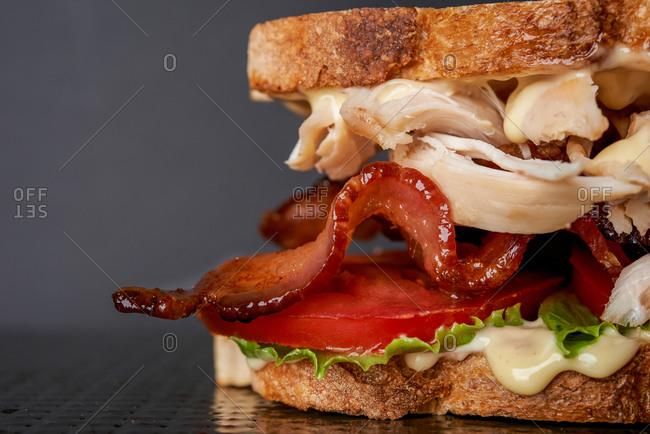 Detail of Club sandwich