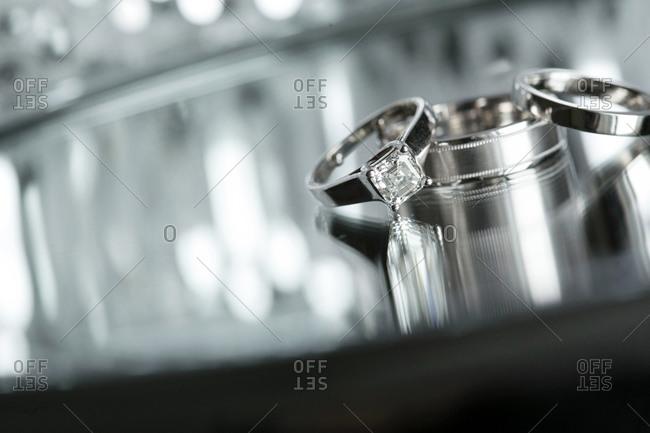 Wedding rings symbol eternal love