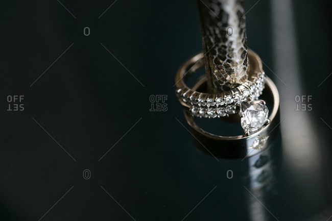 Wedding rings symbol eternal love