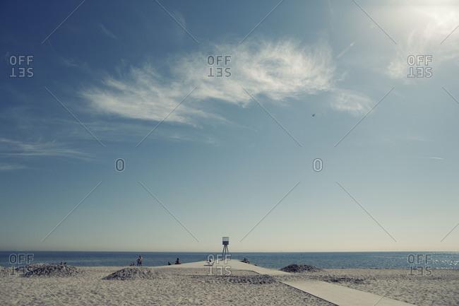 Bellevue Beach in Copenhagen