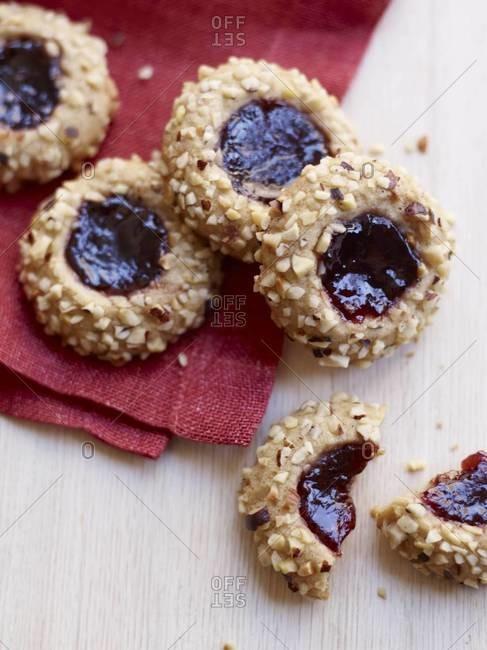 Raspberry jam thumbprints - Offset Collection
