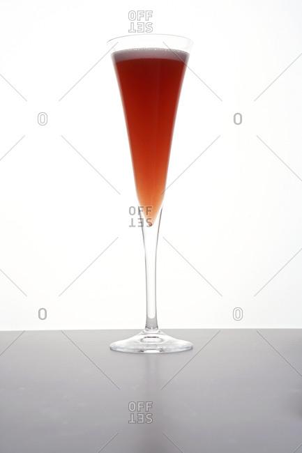 Blood orange mimosa cocktail - Offset