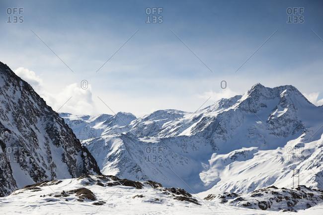 Oetztal Alps, Schnals Valley - Offset