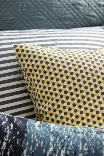 Patterns of different cushions