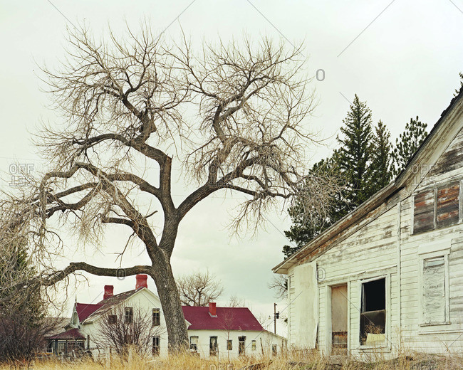 Abandoned house in Wyoming