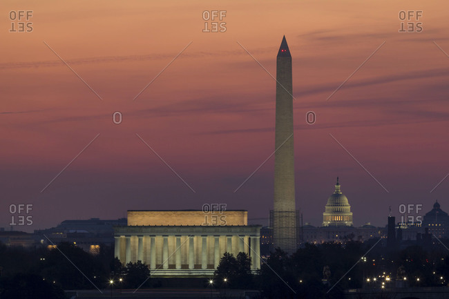 Washington D.C. at sunrise
