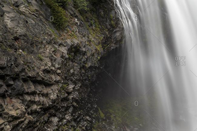Narada Falls waterfall in Mt. Rainier National Park, Washington