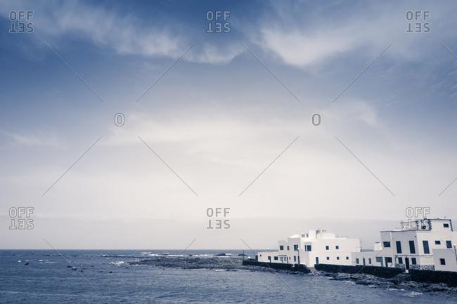 Houses on the coast