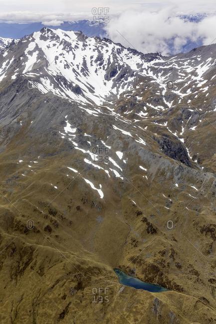 Lake Wanaka and mountains near by Mount Aspiring, New Zealand