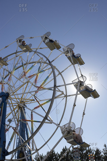 Ferris wheel at Ancaster county fair