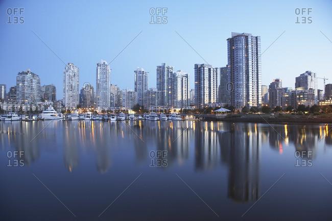 False creek in Vancouver