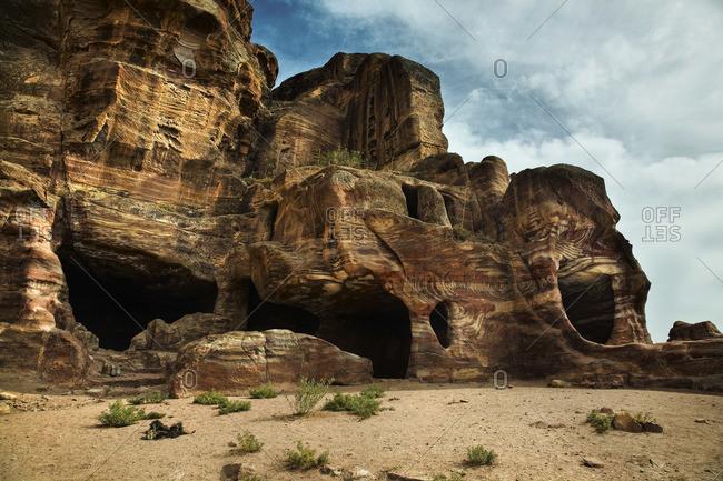 Petra rock formation