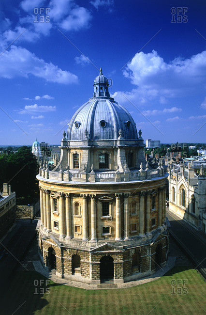 The Radcliffe Camera in Oxford University