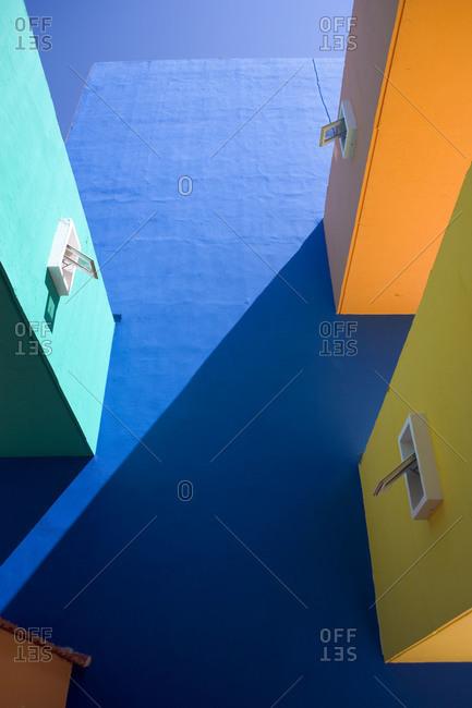 Colorful building near Trinidad, Cuba