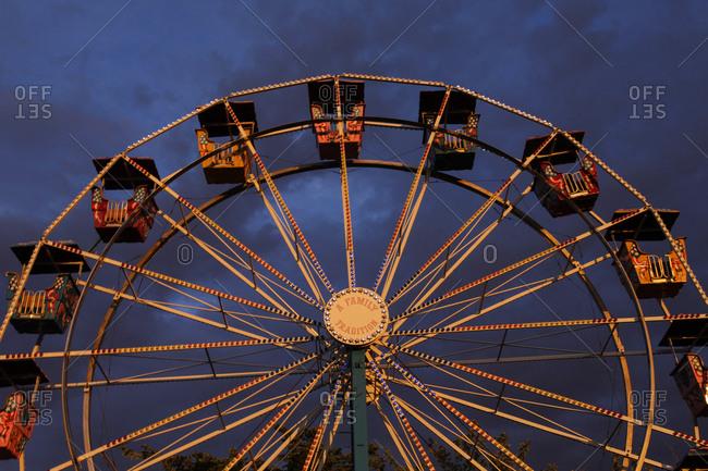 Ferris wheel in Albuquerque, New Mexico, United States