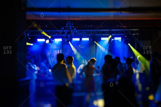 Guest dancing at a wedding reception