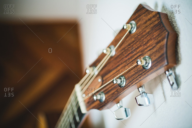 Head of classical guitar