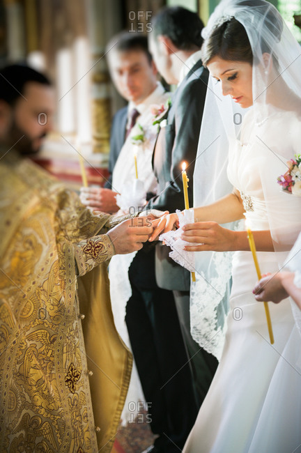 Traditional Orthodox wedding ceremony