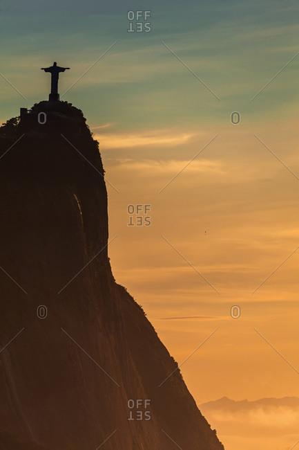 Christ the Redeemer, Corcovado Mountain, Rio de Janeiro, Brazil - March 29, 2013: Christ the Redeemer statue