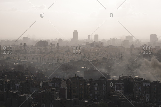 Cityscape of Cairo, Egypt