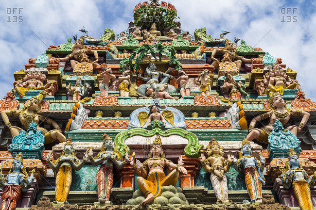 dravidian temple stock photos - OFFSET