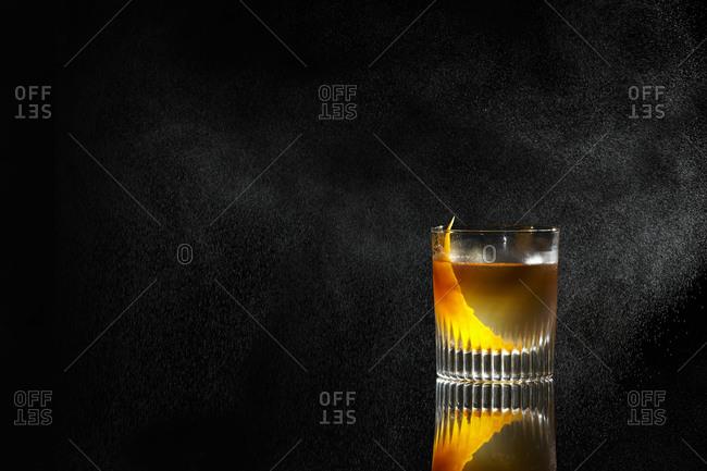 Cocktail with an orange twist
