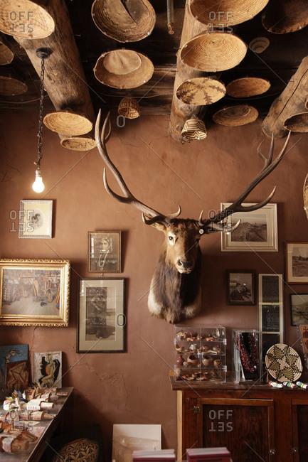 Ganado, Arizona - May 11, 2012: Interior of a trading post