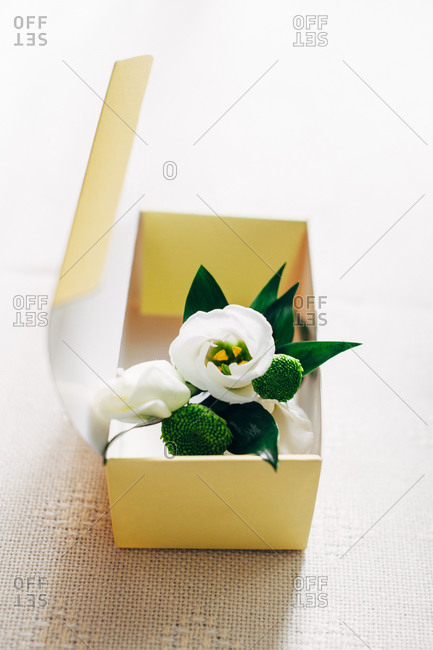 Corsage in a box